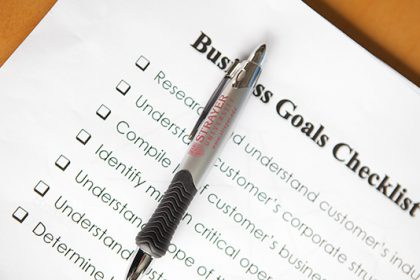 A List Of Business Goals