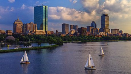 Boston Skyline by Rick Berk