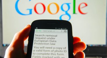 Google sets up data removal webform