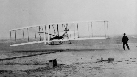 Wright Brothers Plane - First Attempt